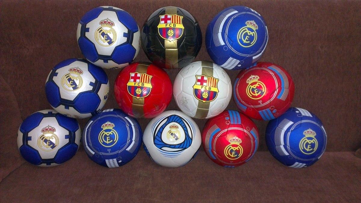 Balon De Futbol Barcelona Y Madrid Numero 5 - Bs. 24.500 726f6cb567c