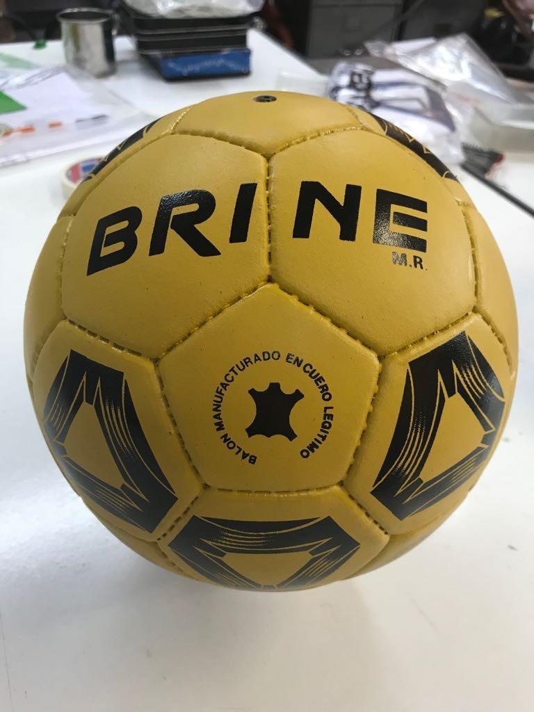 Balón De Fútbol N°5 100% Cuero -   21.900 en Mercado Libre 21b8aebc99ac6