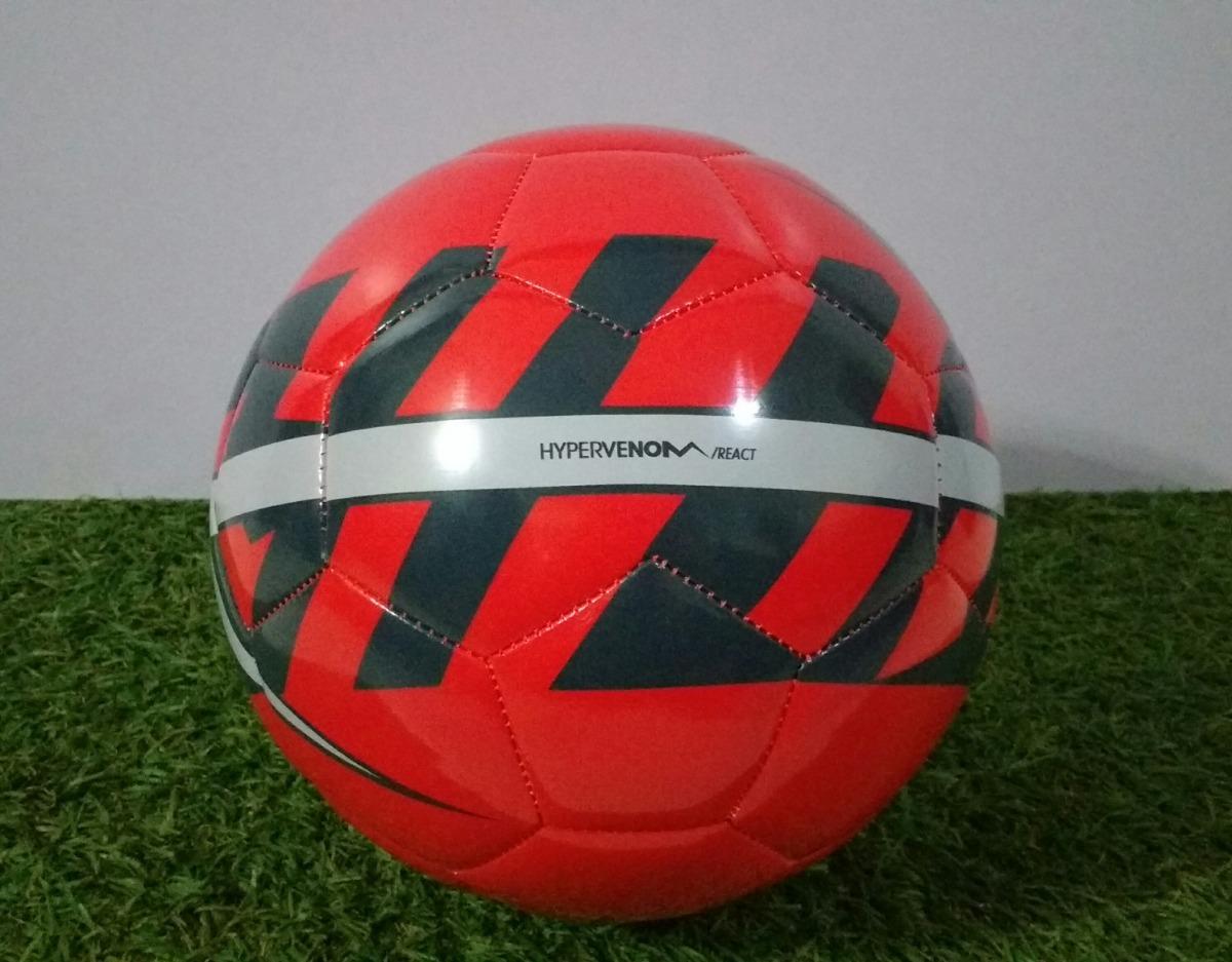 check out bed93 ddcba Balón De Fútbol Nike Hypervenom React Tamaño 5