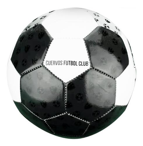 balon de futbol soccer club cuervos numero 5 173165