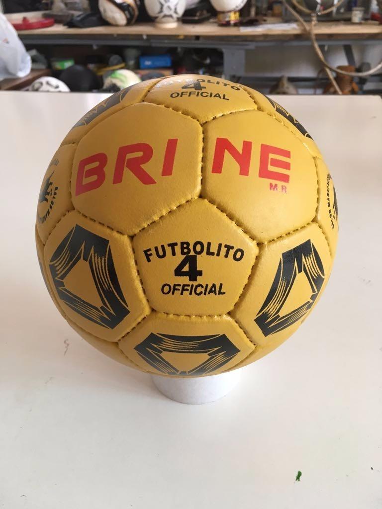 Balón De Futbolito N 4 100% Cuero -   21.900 en Mercado Libre de8747e0d9268
