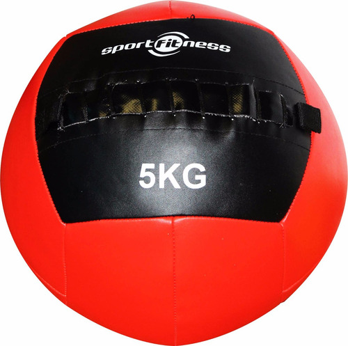 balón de peso 5kg cuero sintético sport fitness  gym 71295