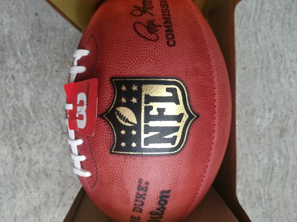 balón de piel wilson futbol americano nfl the duke oficial. Cargando zoom. 760bb2c8b6a