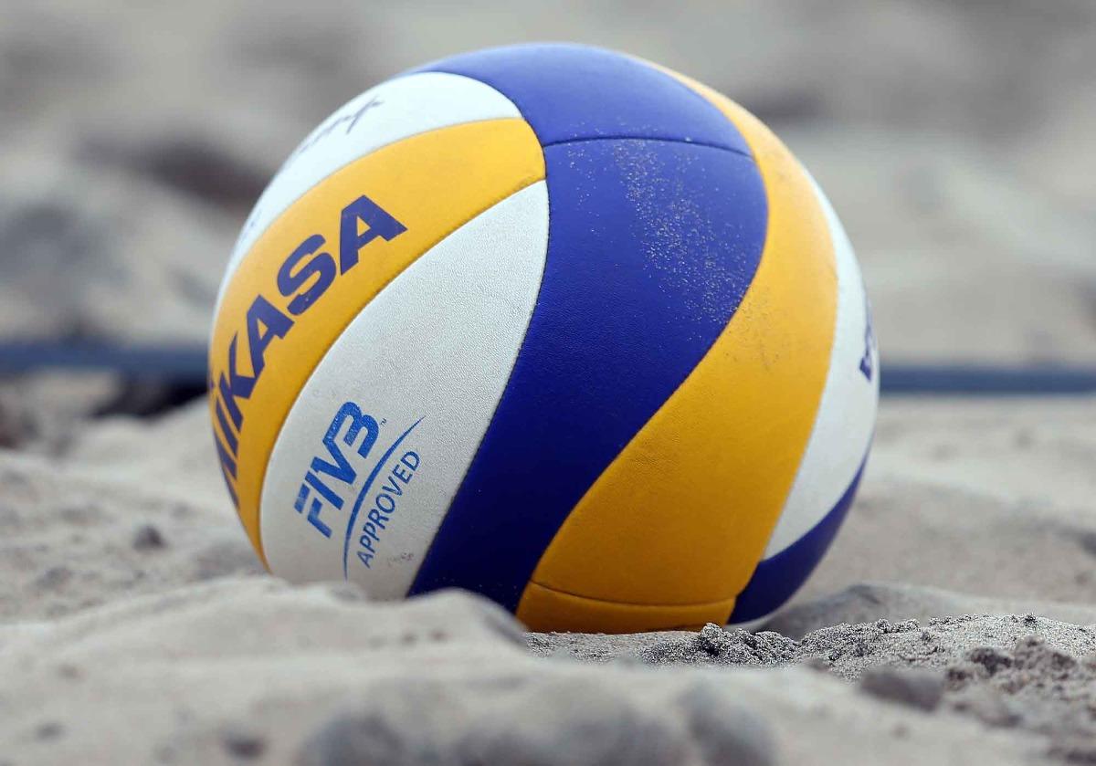 Excepcional Colorear Voleibol De Playa Ornamento - Ideas Para ...