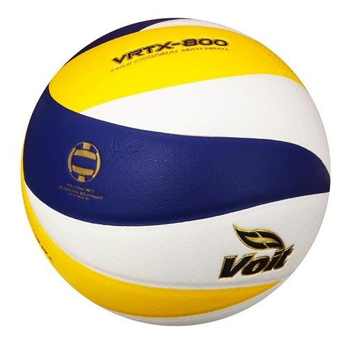 balón de voleyball vrtx no. 5 blanco pu laminado 75275 voit