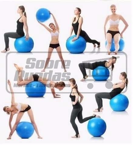 balon ejercicios - yoga - pilates - aerobics - sobreruedas