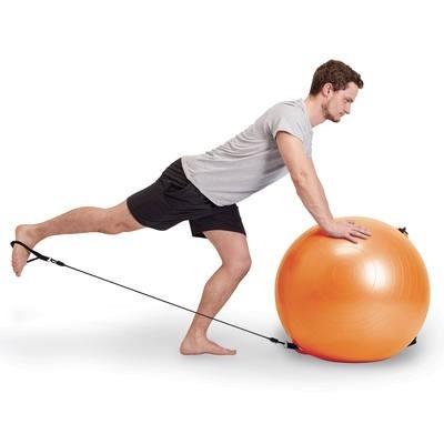 Balón + Elasticos Pilates 90a325733401