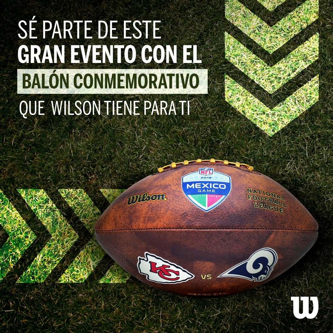 balón football americano nfl game mexico oficial logo wilson. Cargando zoom. 96a768dcdd0