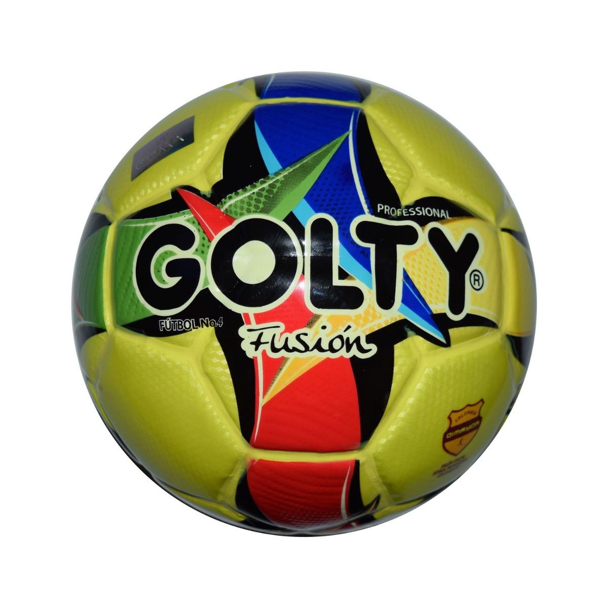 Balón Fútbol  4 Fusión Golty Amarillo   Nación Fútbol -   105.900 en ... 7997bf110c901