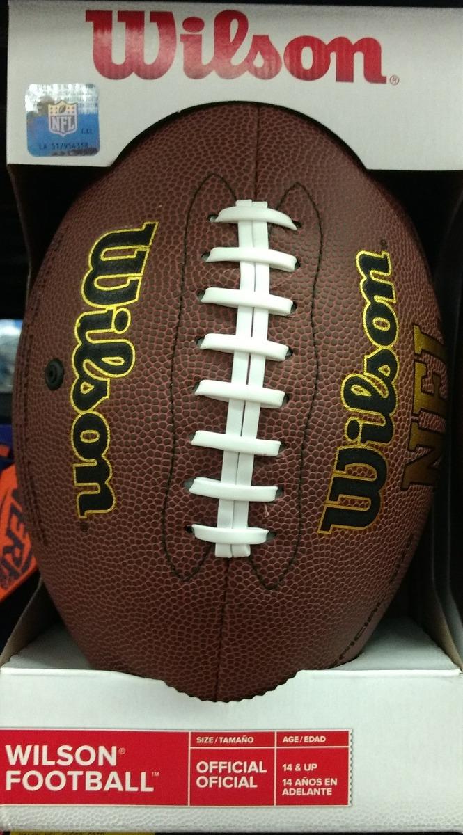 Balon Futbol Americano - Wilson Nfl Tamaño Oficial -   650.00 en ... a99a6bb4df2