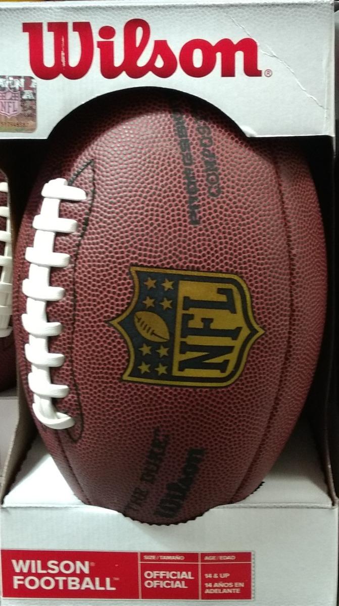 balon futbol americano - wilson nfl tamaño oficial the duke. Cargando zoom. 8fbc6d1555d