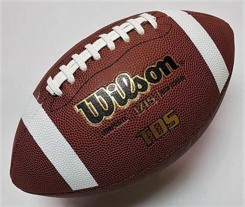 balon futbol americano wilson tds 1715 high school oficial