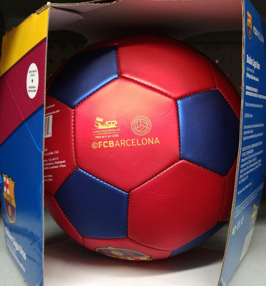 Balon Futbol Barcelona Oficial Tamaño 5 -   399.00 en Mercado Libre 7c33da55b0c98