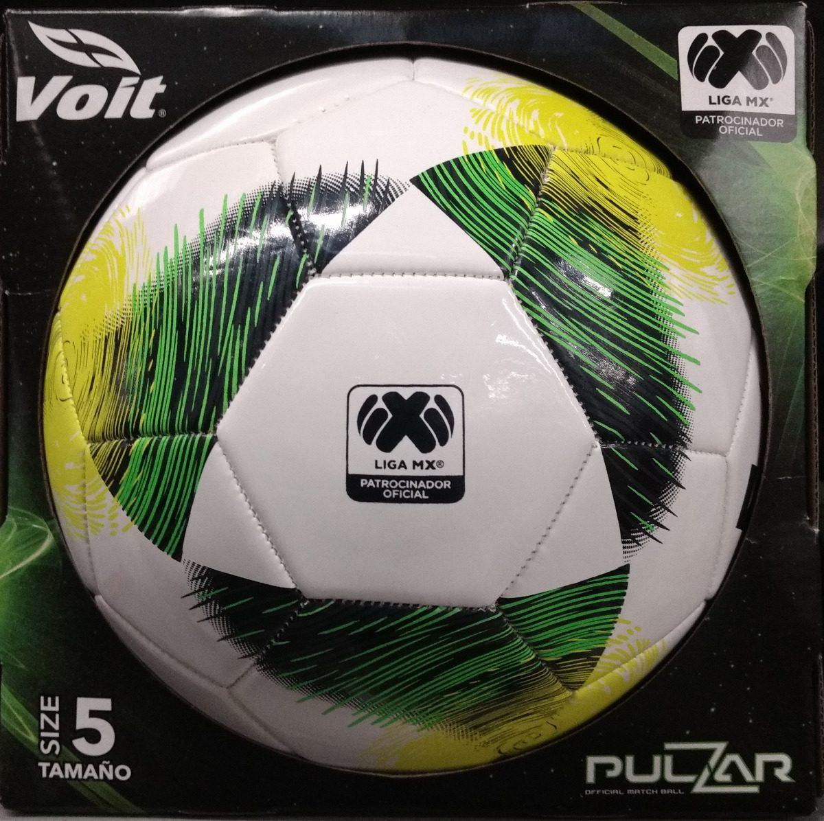 Balon Futbol Liga Mx Clausura 2019 Tam 5 Voit Pulzar -   525.00 en ... 877e4bc1c1854
