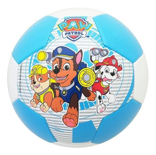 balón fútbol soccer dog group no.3 paw patrol niño azul voit