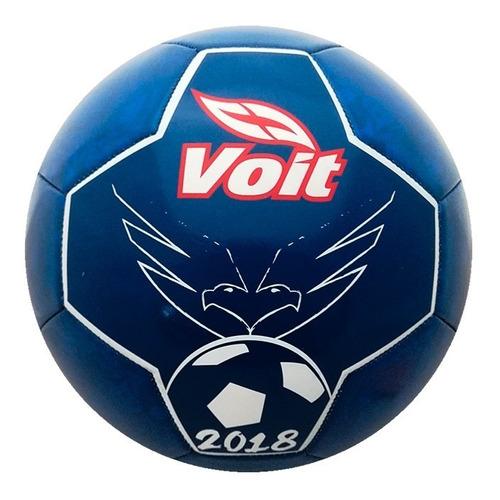 balón fútbol soccer silhouettes no. 5 mod 79161 pvc azul voi