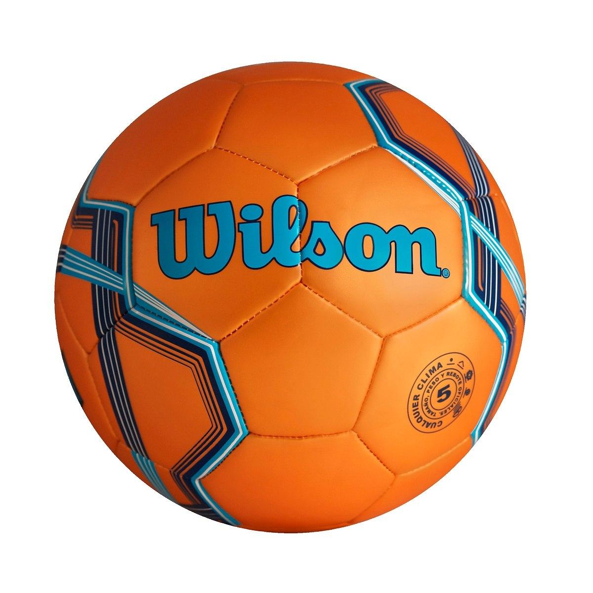2032ad17bab26 Balon Futbol Soccer Wilson Silver Naranja No. 5 -   260.00 en ...
