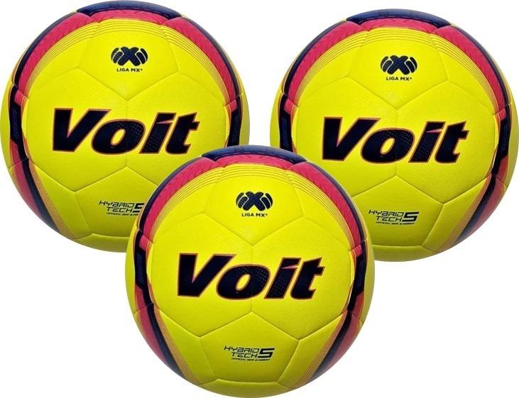 ea5e9f39b8197 Balon Futbol Voit Lummo Blaze Semi Pro No.5 - Kit 3 Pzs -   1