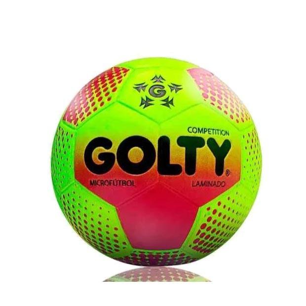 Balon Golty Competition Laminado Futbol Sala N. 5 Color  Fuc ... 5b8c736c9f459