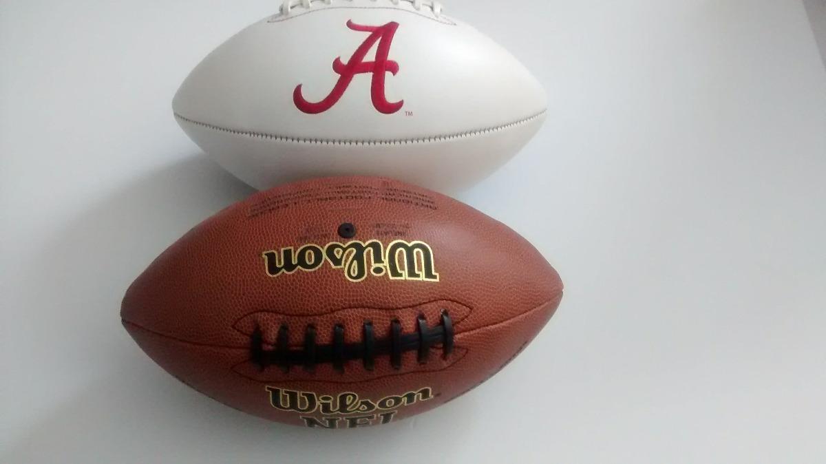 balon nfl wilson oficial y crimson tide futbol americano. Cargando zoom. 14f829bc559