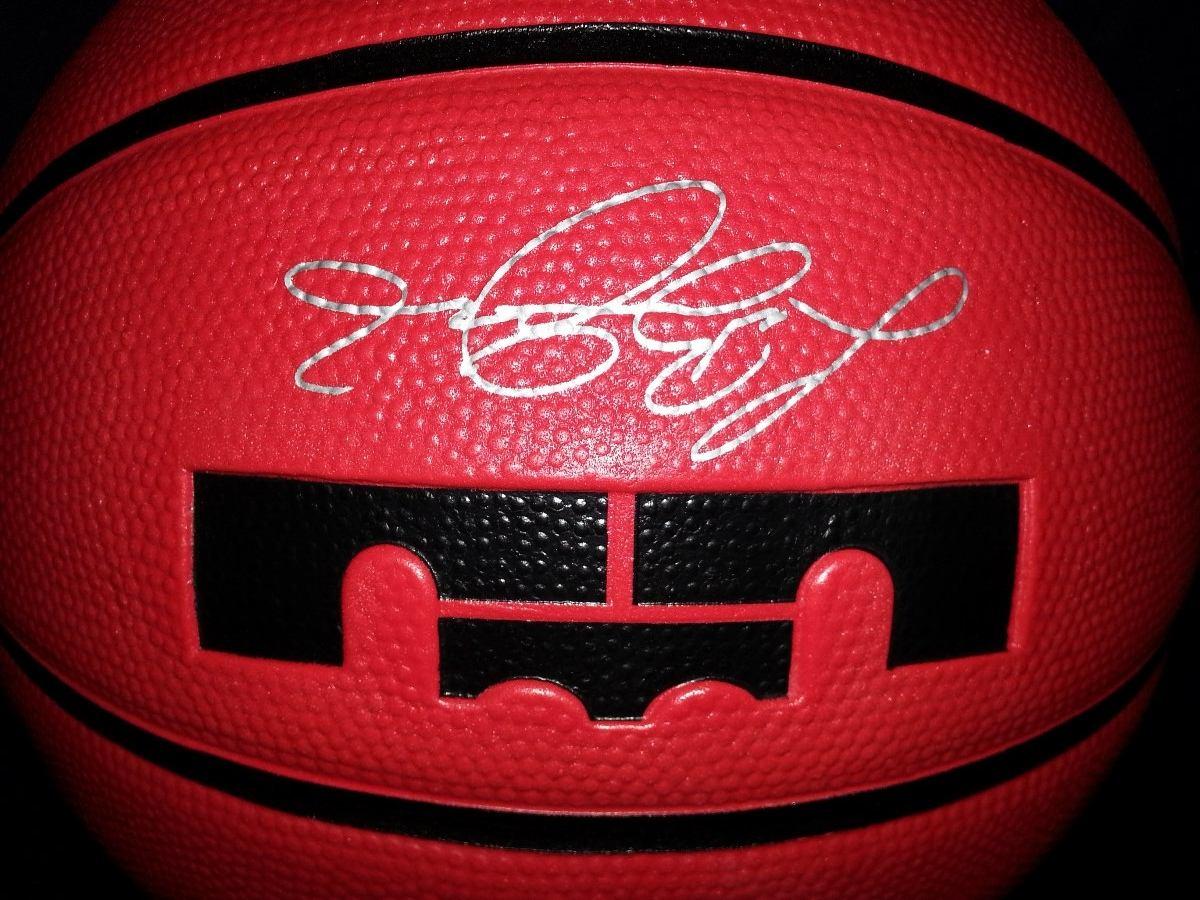 ade9d810 Balon Nike Lebron James Red Velvet 2013 Envio Gratis - $ 775.00 en ...