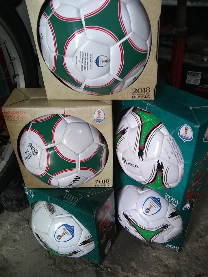 Balon Oficial México Del Mundial Rusia 2018 Original -   350.00 en ... b5e2c4b8bd825