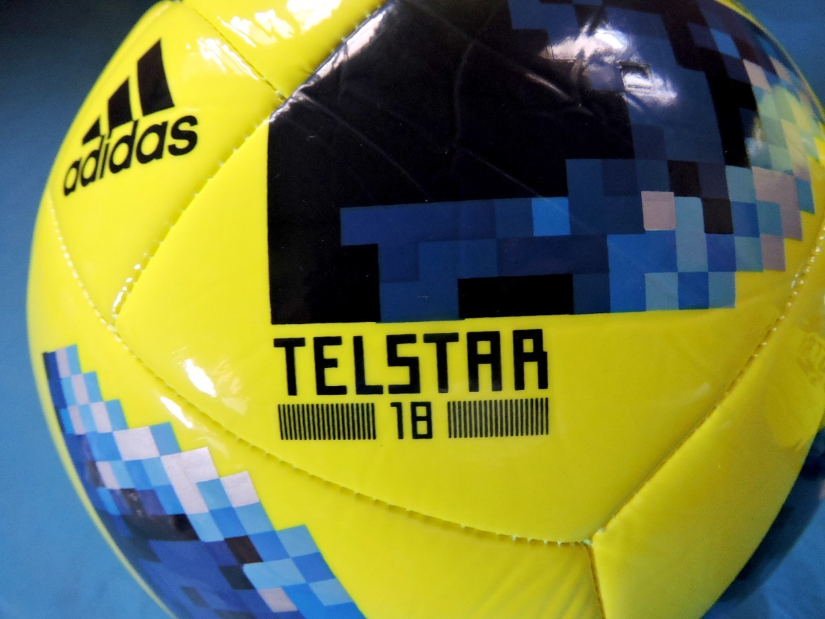 balón original adidas telstar world cup 2018 amarillo  5. Cargando zoom. 0bef3de1da97e