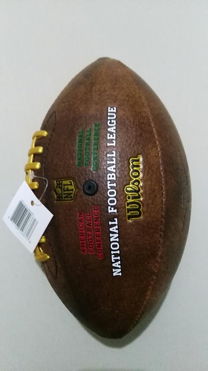 Balón Original Nfl Conmemorativo Raiders Vs Texans f65f6f6d7eb