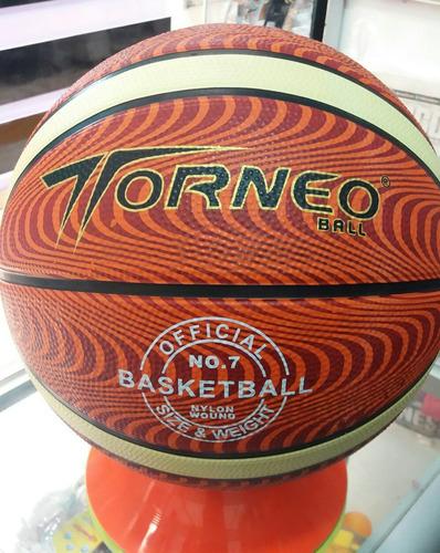 balon para basket torneo peso medida oficial # 7 t/terreno