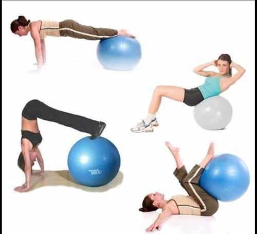 balón pelota ejercicios yoga pilates, aerobic fitness 90cm
