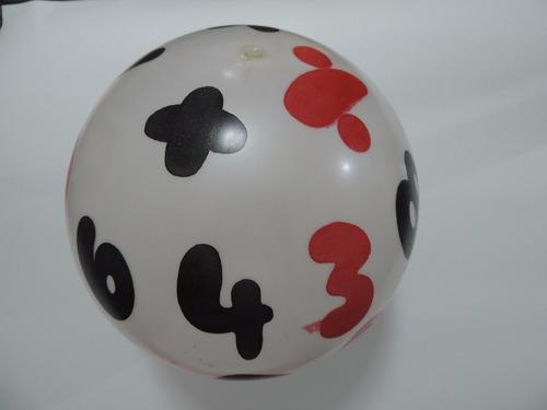 balón pelota para fiestas sorpresas hora loca piñata regalo