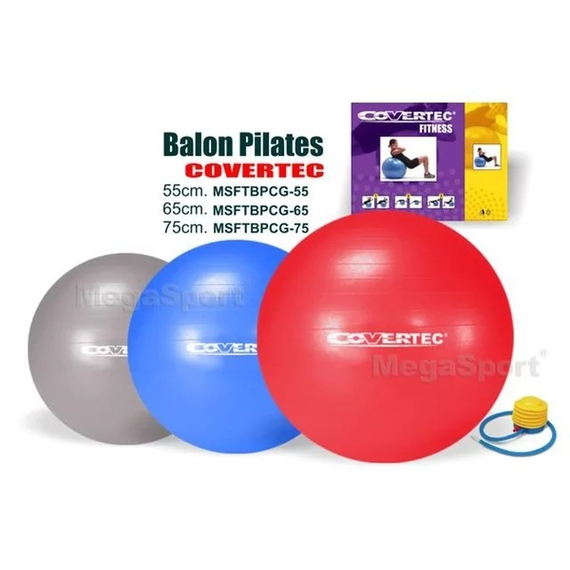 Balon Pilates Covertec (incluye Bombin)65 CmAzul -   8.406 en ... a3eabe0ae9dd