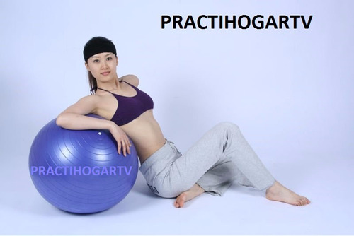 balon pilates  ejercicios, gym ball,tonifica 75 cms.