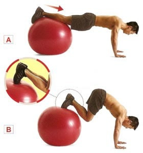 balon pilates pelota gym fitball gimnasio tonifica 85 cm