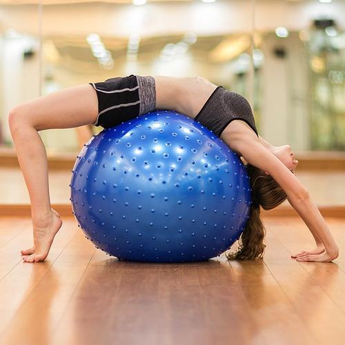 balón pilates pelota para ejercicio de 65cm miyagi original