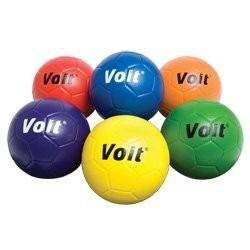 balon voit tuff soccer balls coated foam, prism pack size 5