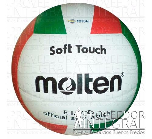 balón voleibol volleyball soft touch # 5 nuevo modelo molten