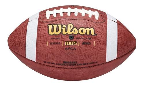 balon wilson oficial ncaa piel f1005 futbol americano