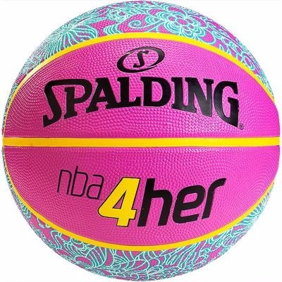 balones baloncesto basketball spalding nba mujer # 6 colores