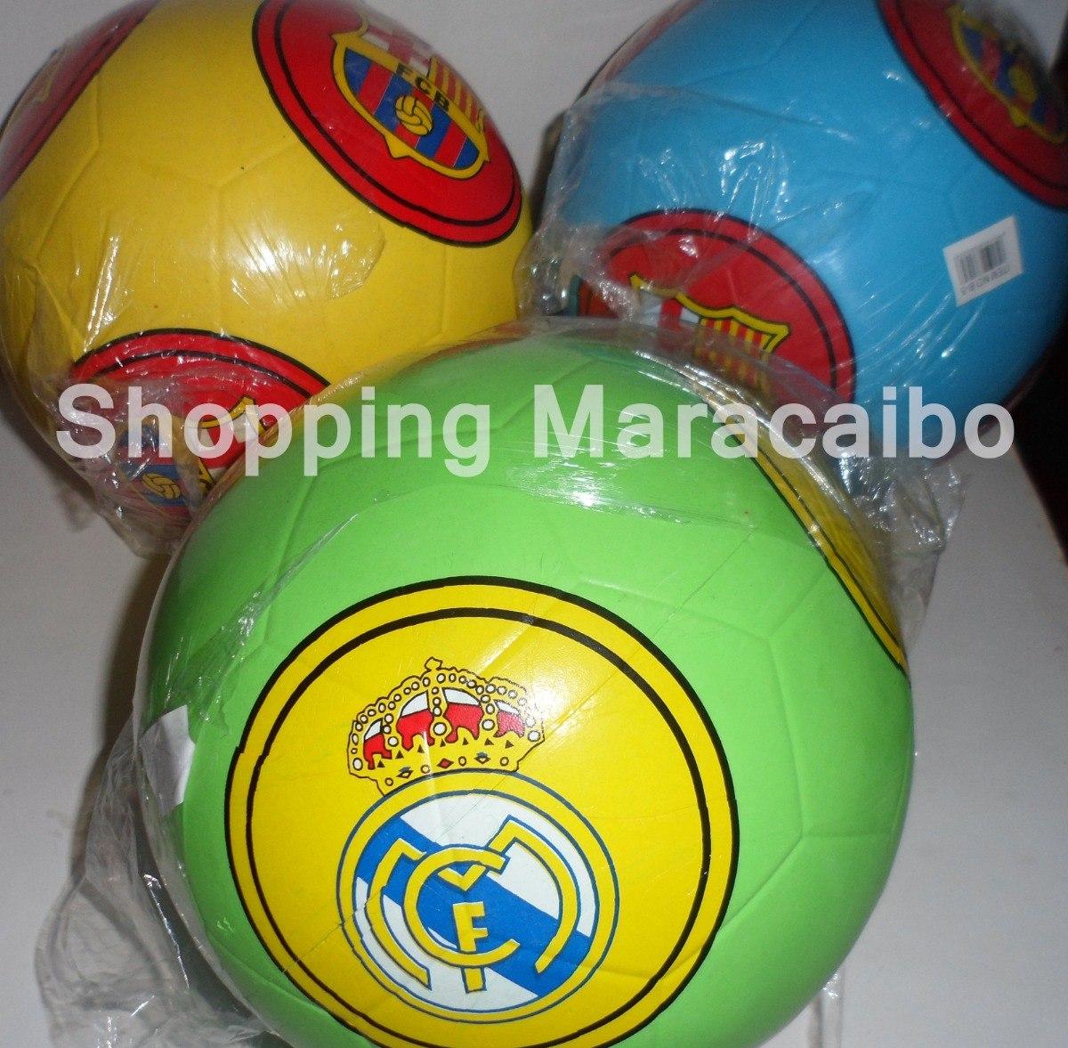Balones De Football Real Madrid Y Barcelona Y Mas   Tienda - Bs. 20.400 44bf2e6fd14