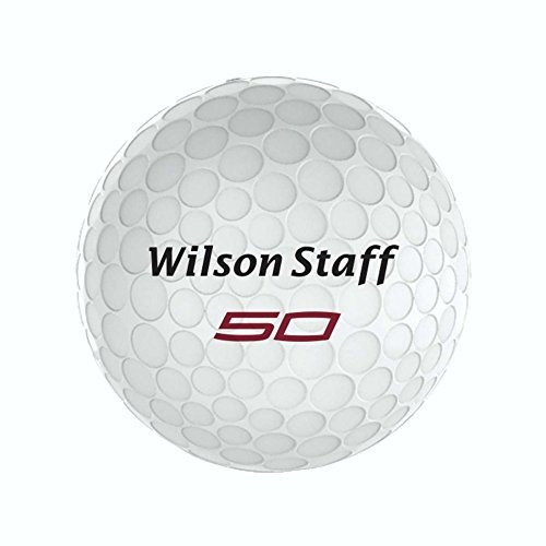 balones de golf wilson team fifty elite (paquete de 12), ro