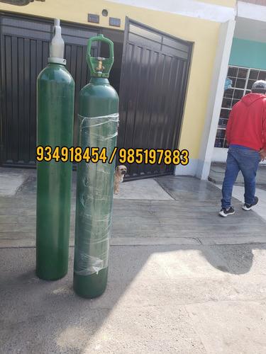 balones de oxigeno medicinal ,  10 m3 llenos de oxigeno