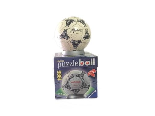 balones del mundial de futbol - puzzle ball