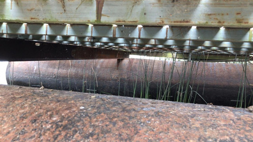 balsa marina muelle de acero