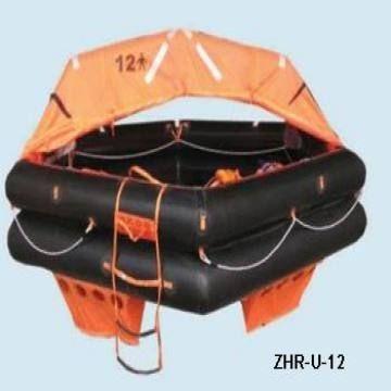 balsa salvavidas 12 personas rectangular pack b solas