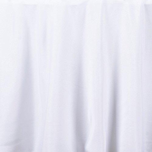 balsacircle 120 \redonda de tela de poliéster de boda de me