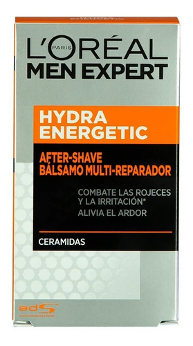 bálsamo after shave loréal men expert hydra energetic x 100