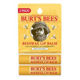 Bálsamo Labial Burt's Bees Cera De Abejas Lipbalm X2