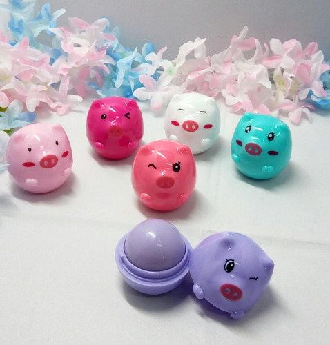 bálsamo labial little pig pink 21 x5u..