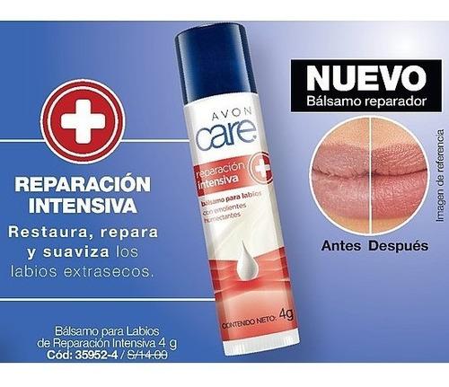 balsamo  para labios de reparación intensiva avon